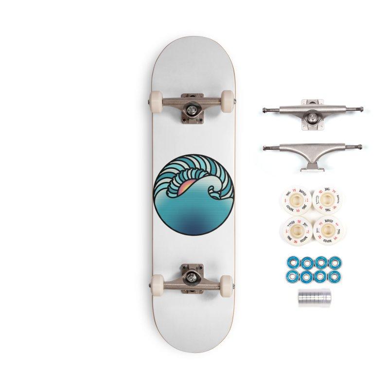 Endless Wave Accessories Complete - Premium Skateboard by Rocain's Artist Shop