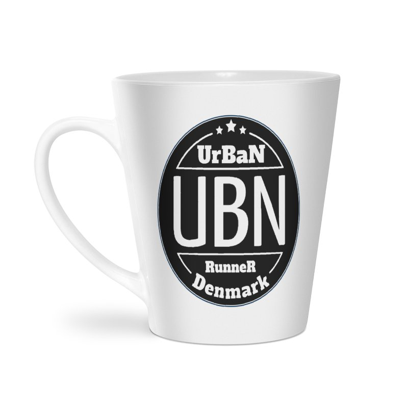 Urban Runner Logo Accessories Latte Mug by Rocain's Artist Shop
