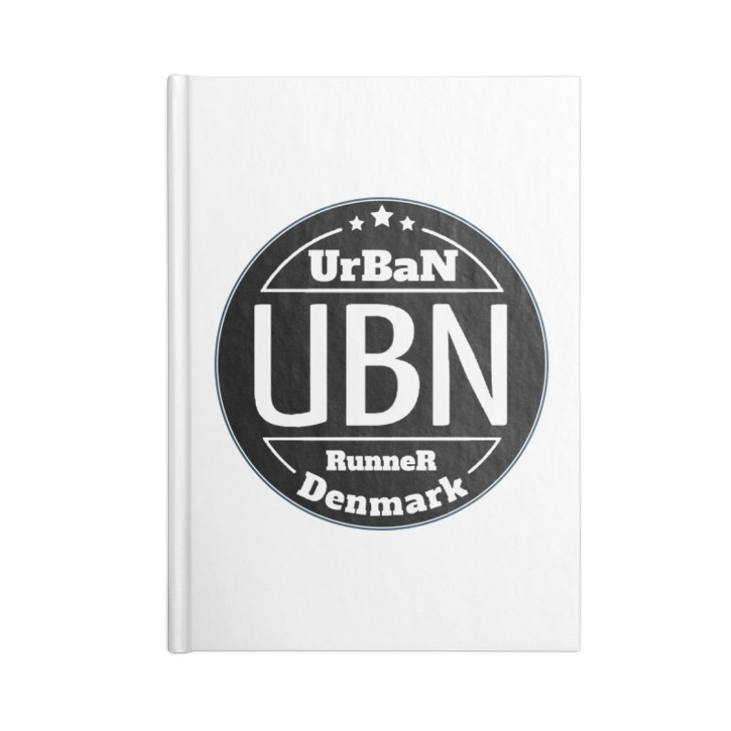 Urban Runner Logo Accessories Lined Journal Notebook by Rocain's Artist Shop