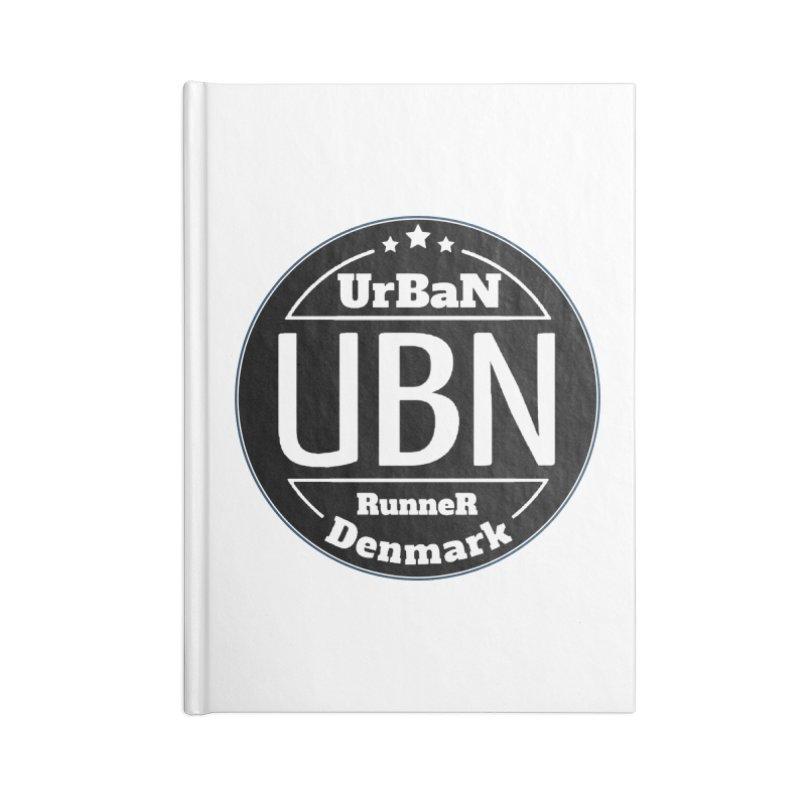 Urban Runner Logo Accessories Blank Journal Notebook by Rocain's Artist Shop