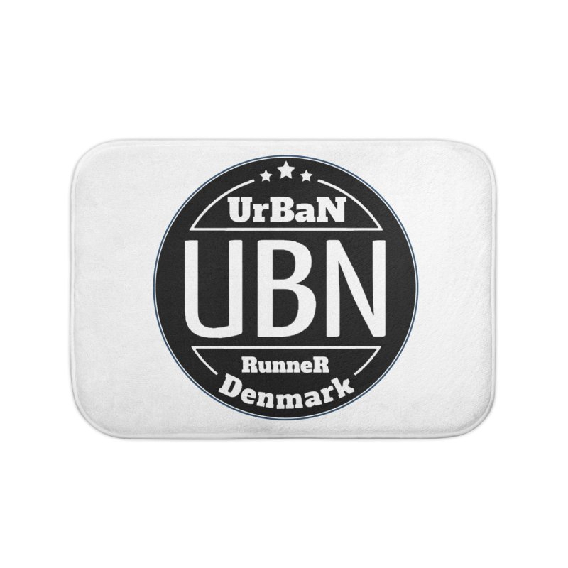 Urban Runner Logo Home Bath Mat by Rocain's Artist Shop