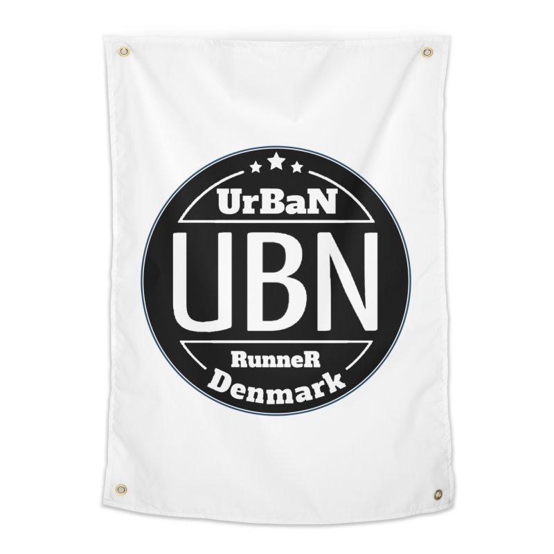 Urban Runner Logo Home Tapestry by Rocain's Artist Shop