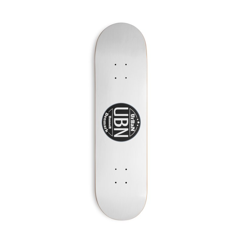 Urban Runner Logo Accessories Deck Only Skateboard by Rocain's Artist Shop