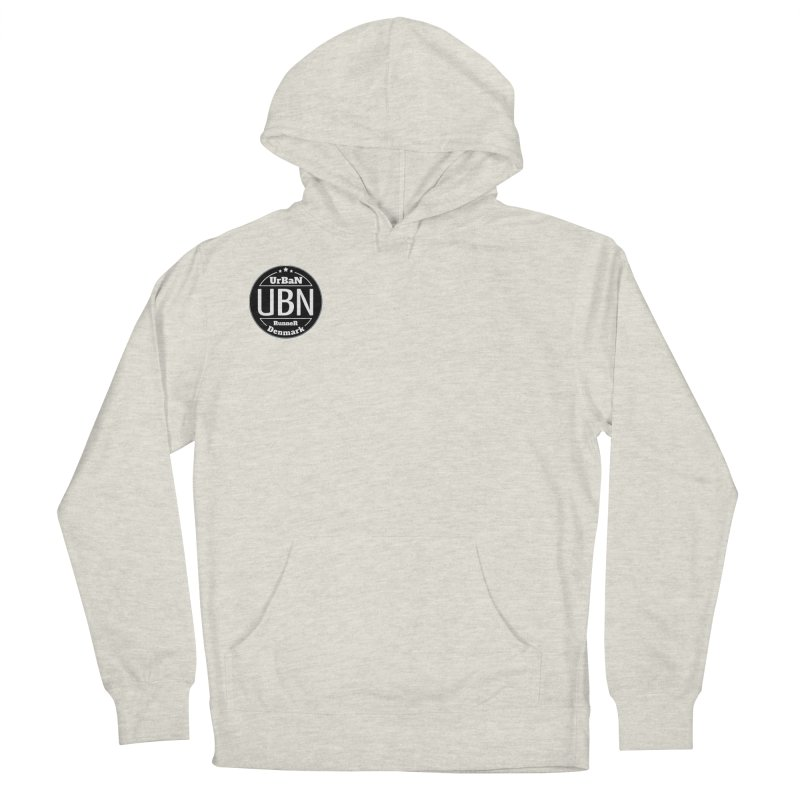 Urban Runner Logo Men's French Terry Pullover Hoody by Rocain's Artist Shop