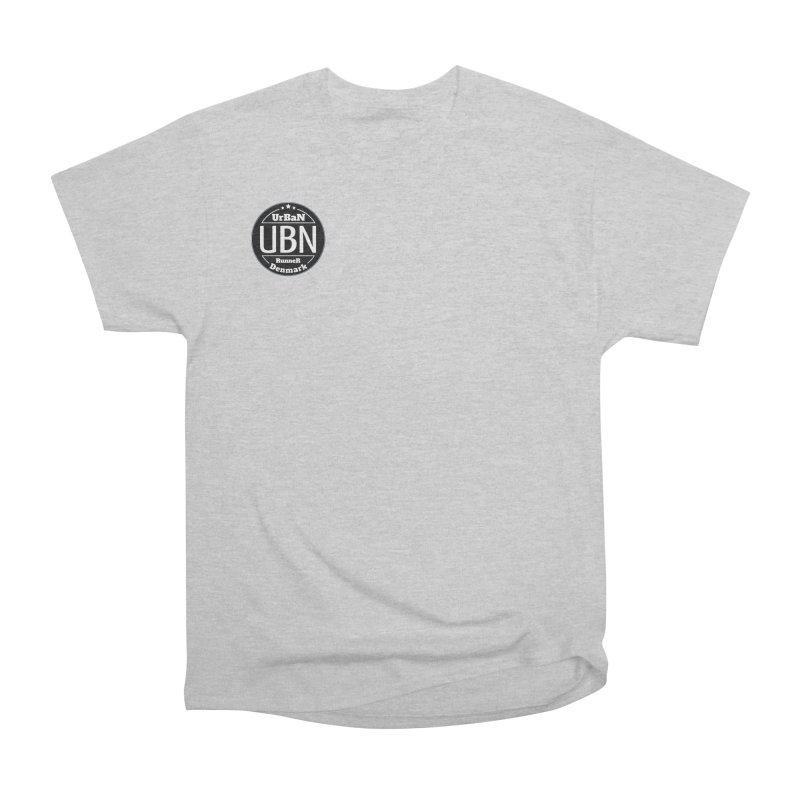 Urban Runner Logo Men's Heavyweight T-Shirt by Rocain's Artist Shop