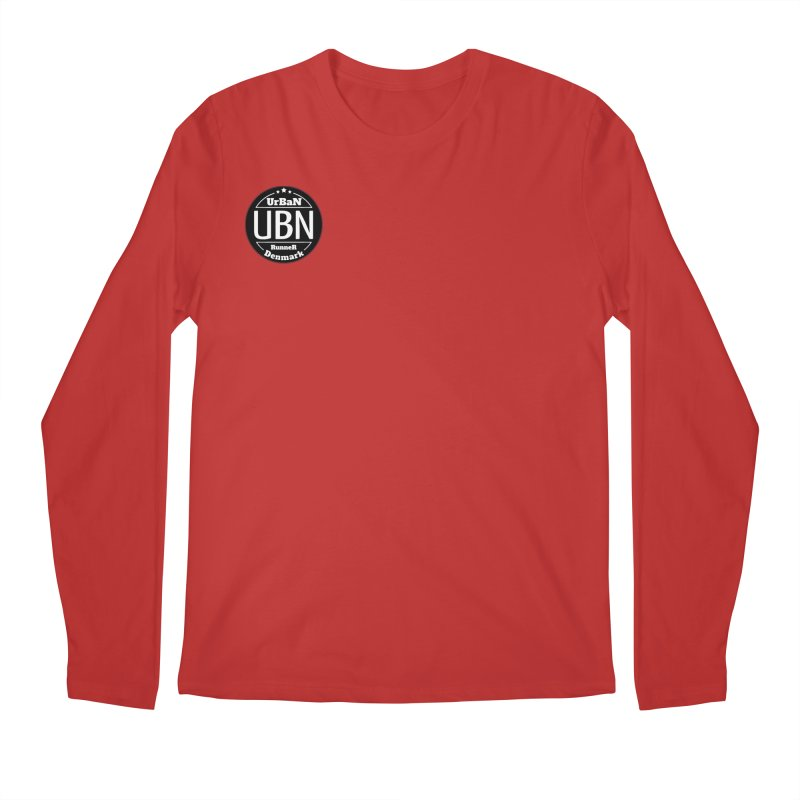 Urban Runner Logo Men's Regular Longsleeve T-Shirt by Rocain's Artist Shop