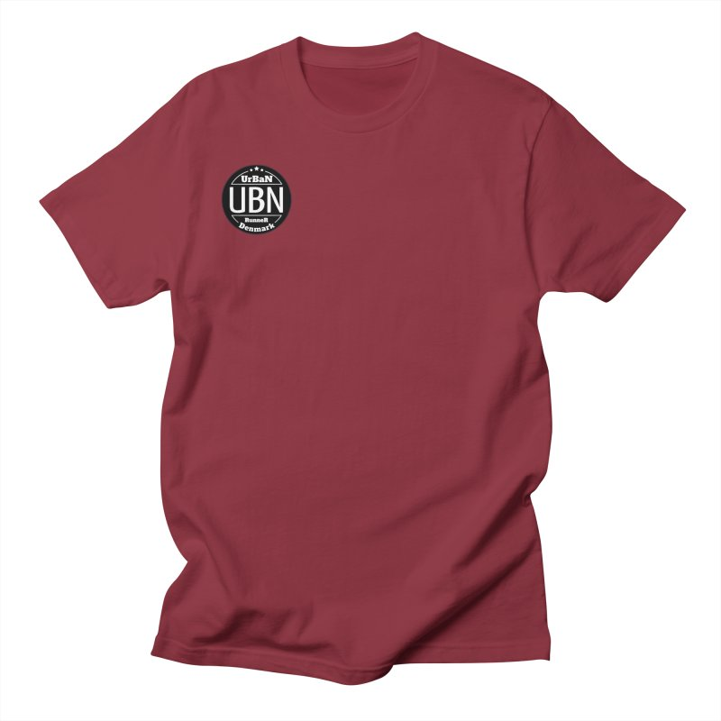 Urban Runner Logo Men's Regular T-Shirt by Rocain's Artist Shop