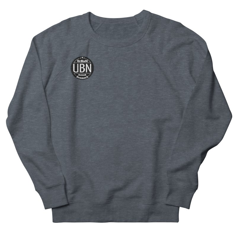 Urban Runner Logo Men's French Terry Sweatshirt by Rocain's Artist Shop