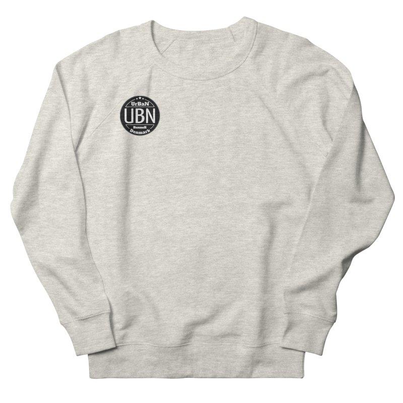 Urban Runner Logo Men's French Terry Sweatshirt by Rocain's Artist Shop