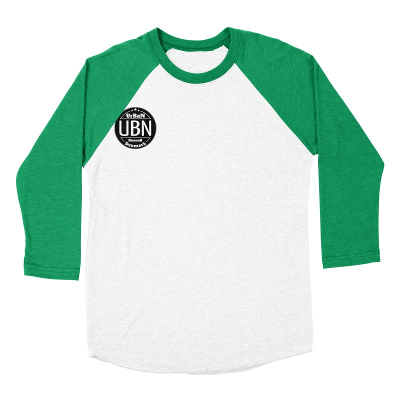Urban Runner Logo Women's Baseball Triblend Longsleeve T-Shirt by Rocain's Artist Shop