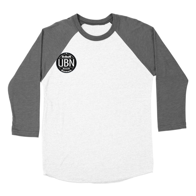 Urban Runner Logo Men's Baseball Triblend Longsleeve T-Shirt by Rocain's Artist Shop
