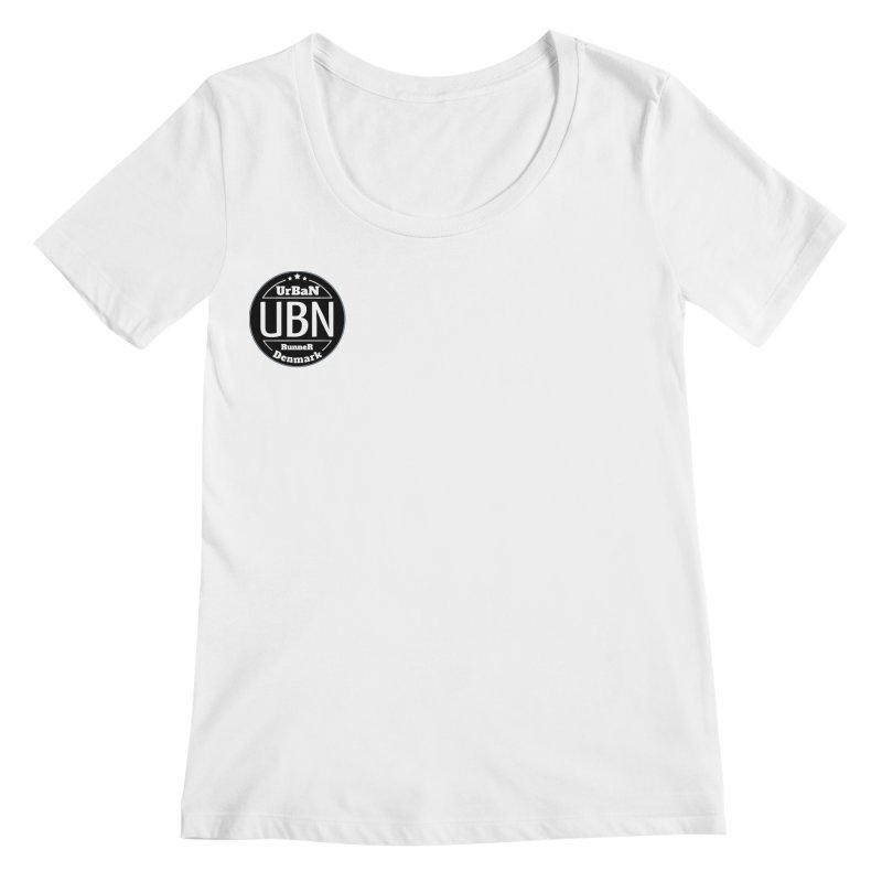 Urban Runner Logo Women's Regular Scoop Neck by Rocain's Artist Shop