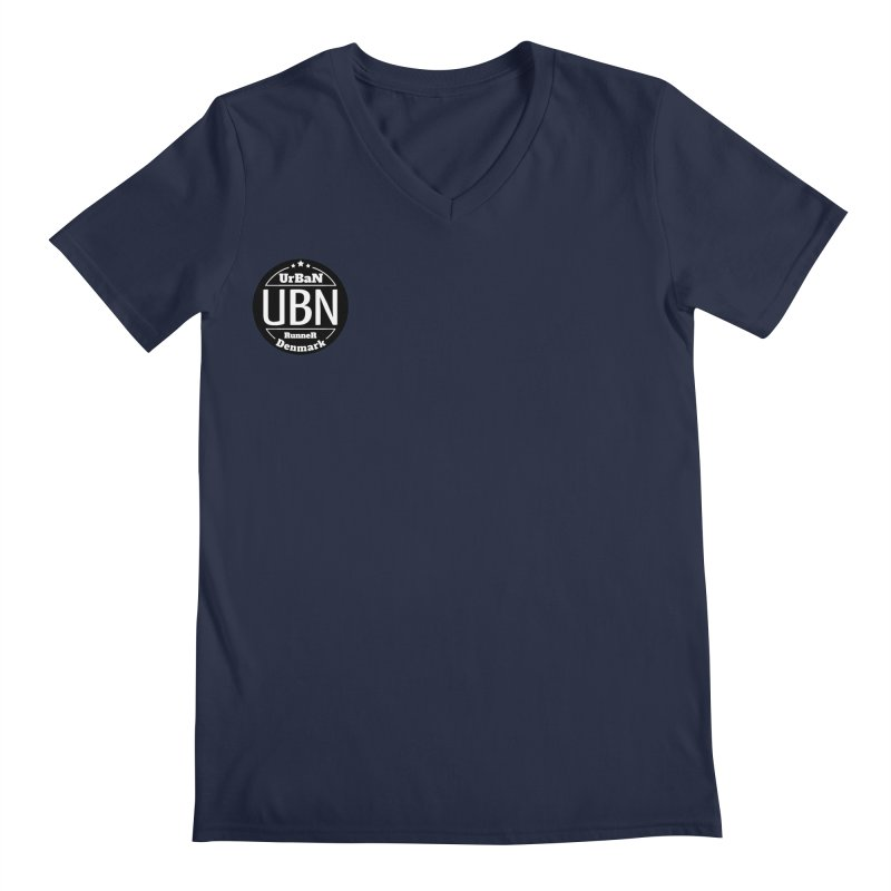 Urban Runner Logo Men's Regular V-Neck by Rocain's Artist Shop