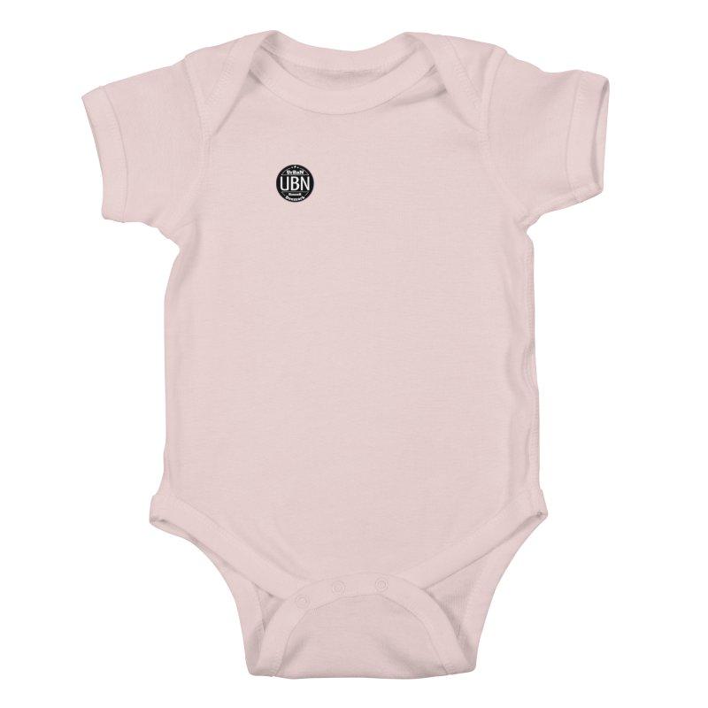 Urban Runner Logo Kids Baby Bodysuit by Rocain's Artist Shop