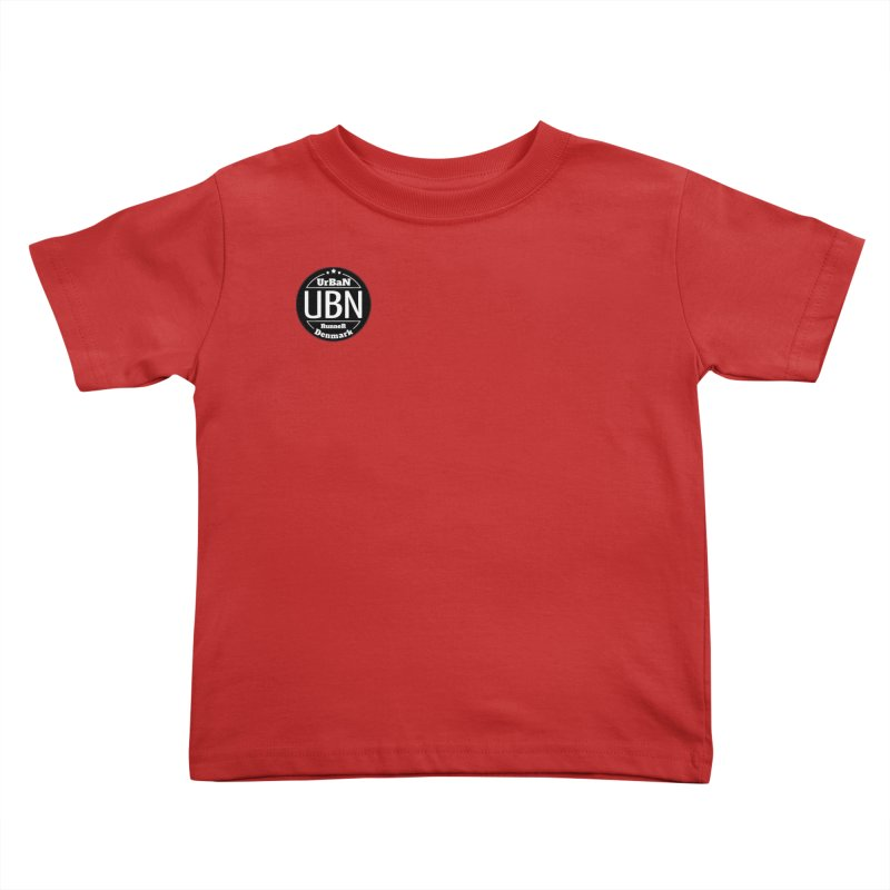 Urban Runner Logo Kids Toddler T-Shirt by Rocain's Artist Shop