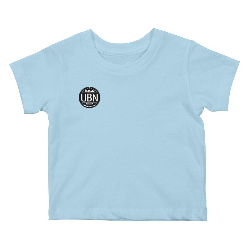 Urban Runner Logo Kids Baby T-Shirt by Rocain's Artist Shop