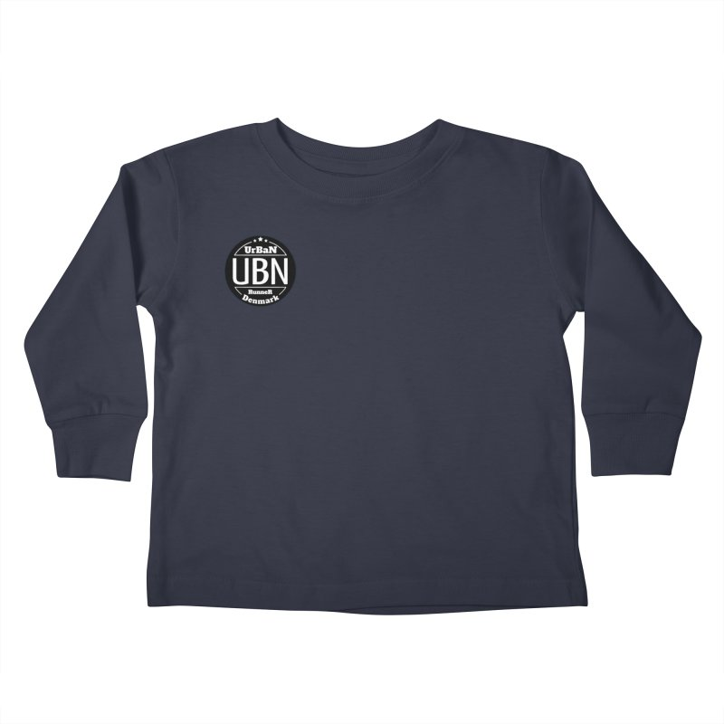 Urban Runner Logo Kids Toddler Longsleeve T-Shirt by Rocain's Artist Shop