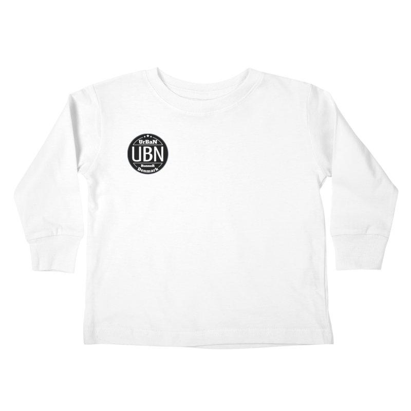 Urban Runner Logo Kids Toddler Longsleeve T-Shirt by Rocain's Artist Shop
