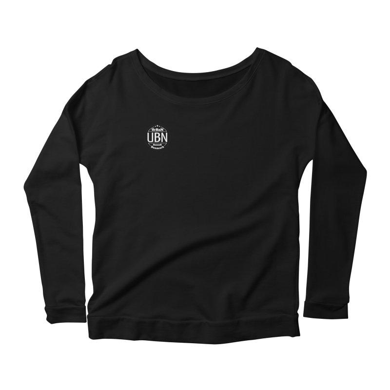 Urban Runner Logo Women's Scoop Neck Longsleeve T-Shirt by Rocain's Artist Shop
