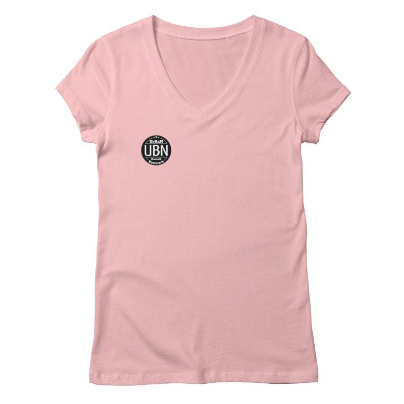 Urban Runner Logo Women's Regular V-Neck by Rocain's Artist Shop