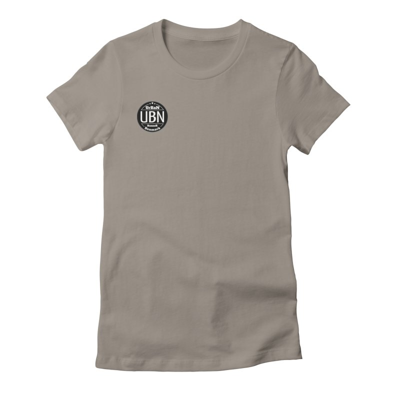 Urban Runner Logo Women's Fitted T-Shirt by Rocain's Artist Shop