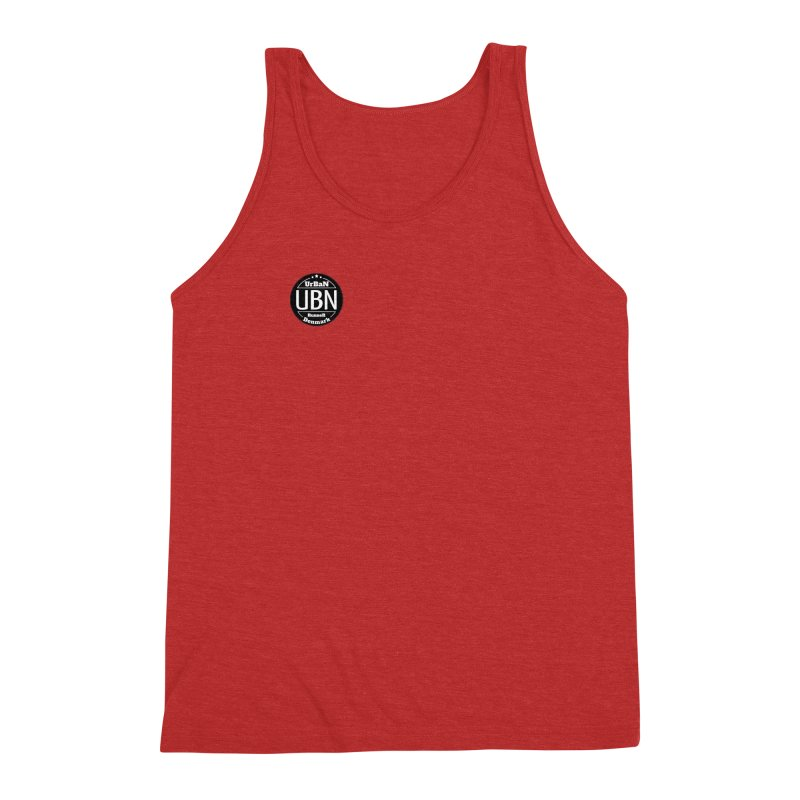 Urban Runner Logo Men's Triblend Tank by Rocain's Artist Shop