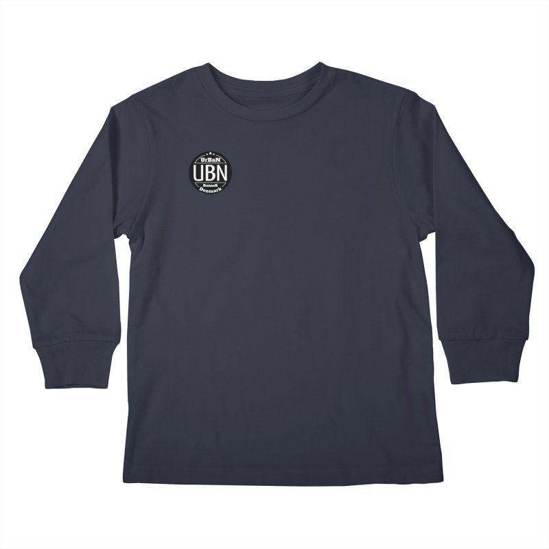 Urban Runner Logo Kids Longsleeve T-Shirt by Rocain's Artist Shop
