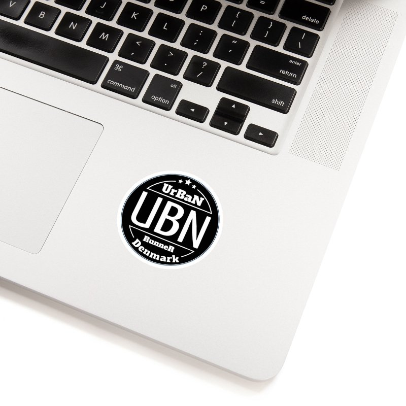 Urban Runner Logo Accessories Sticker by Rocain's Artist Shop