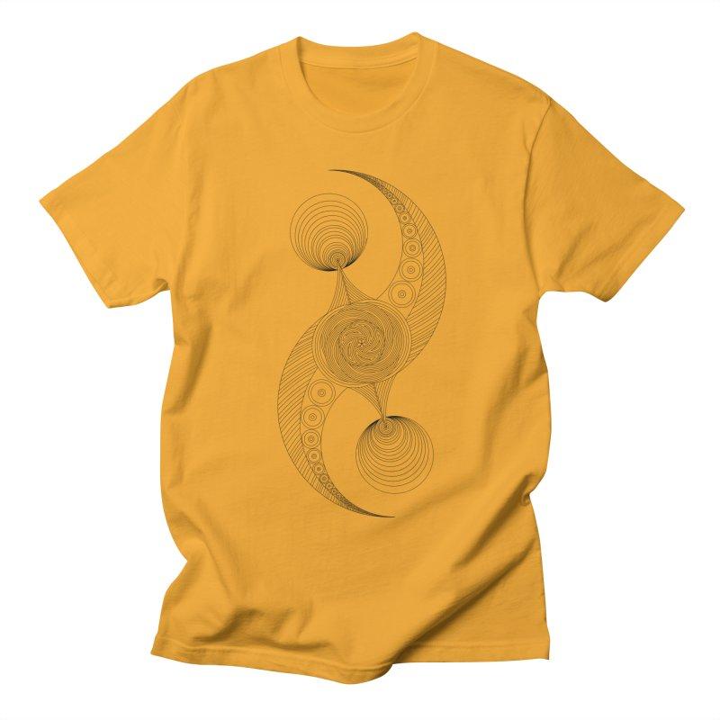 Double Crescent Women's Regular Unisex T-Shirt by Rocain's Artist Shop