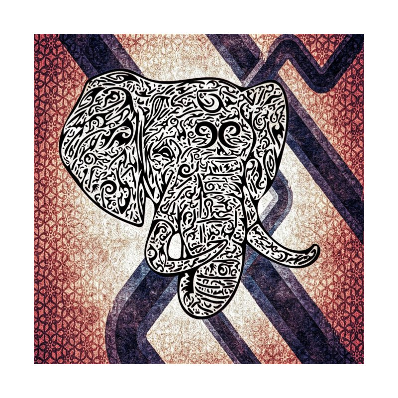 Tribal Elephant by Rocain's Artist Shop