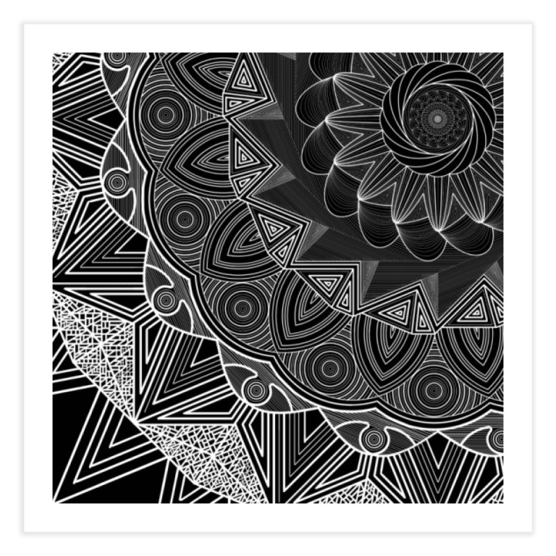 Mandala 10 Home Fine Art Print by Rocain's Artist Shop