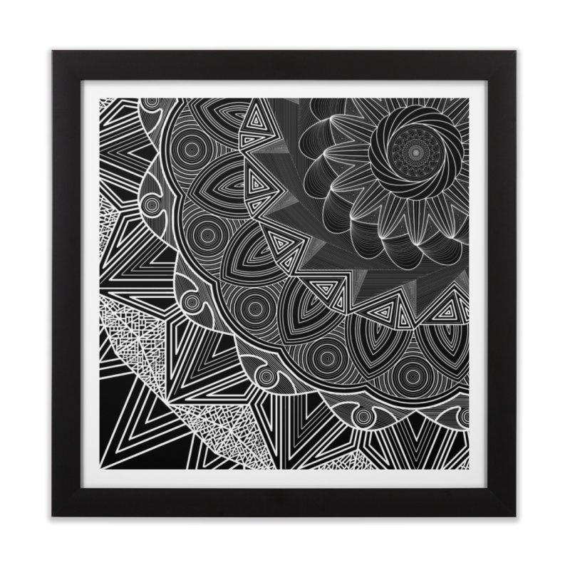 Mandala 10 Home Framed Fine Art Print by Rocain's Artist Shop