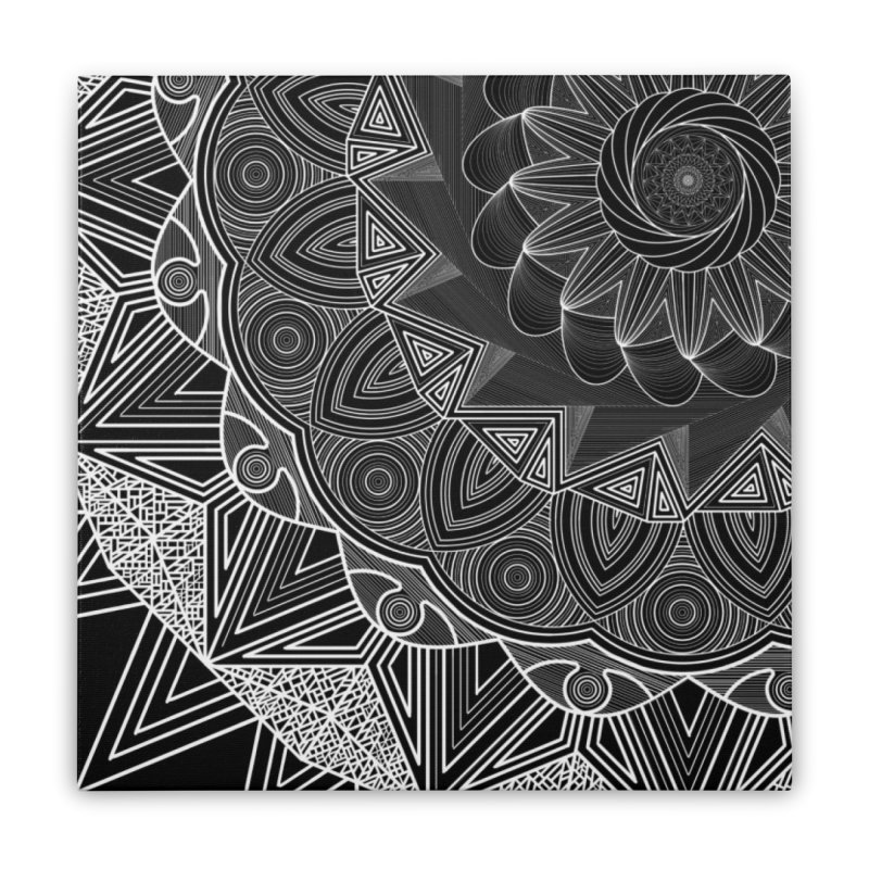 Mandala 10 Home Stretched Canvas by Rocain's Artist Shop