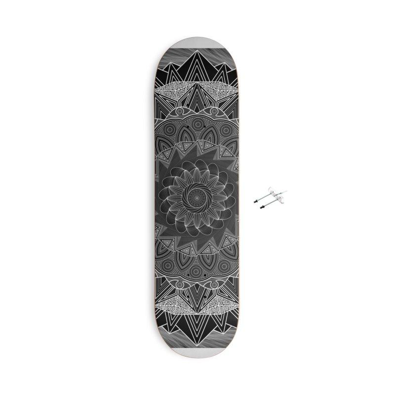 mandala 10-2 Accessories Skateboard by Rocain's Artist Shop
