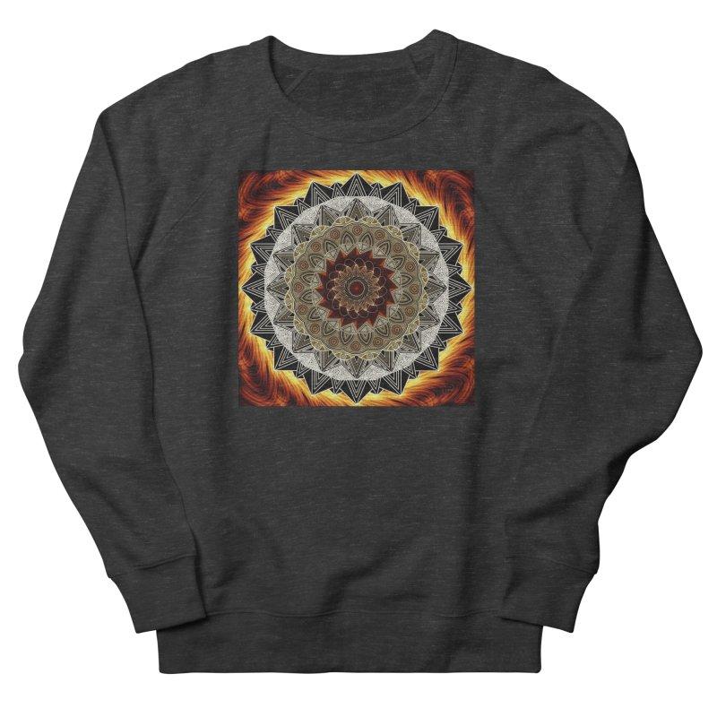 mandala 10-Fire Women's French Terry Sweatshirt by Rocain's Artist Shop