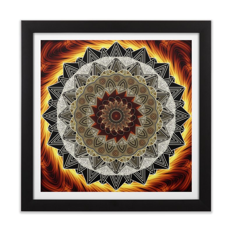 mandala 10-Fire   by Rocain's Artist Shop