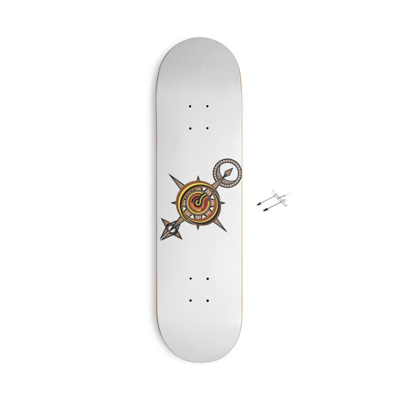 Directions Accessories Skateboard by Rocain's Artist Shop