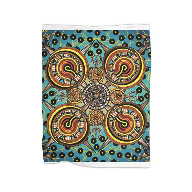 Directions 2 Home Blanket by Rocain's Artist Shop
