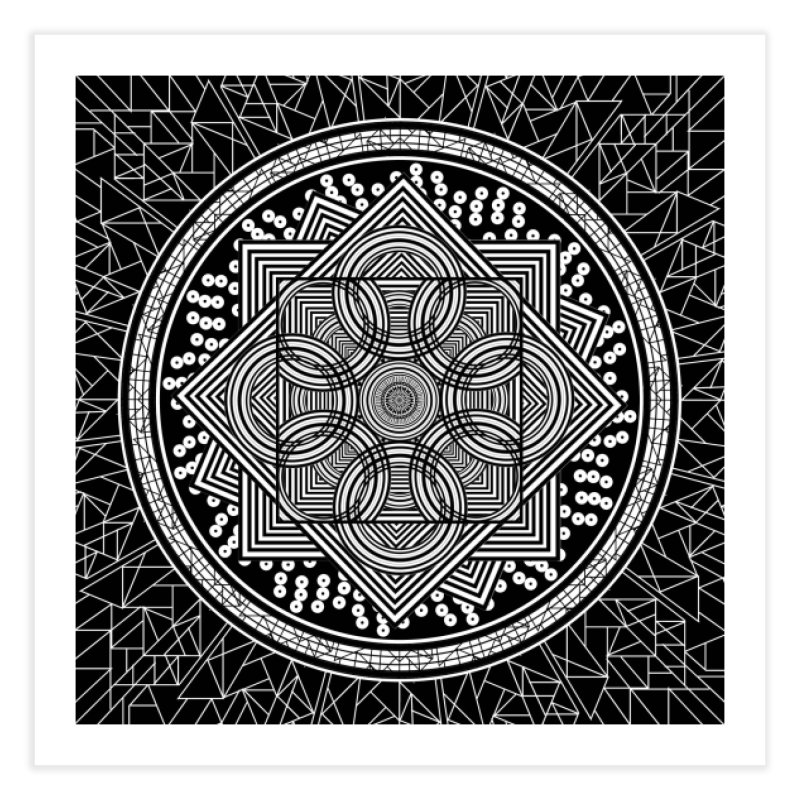 Mandala 18 Home Fine Art Print by Rocain's Artist Shop