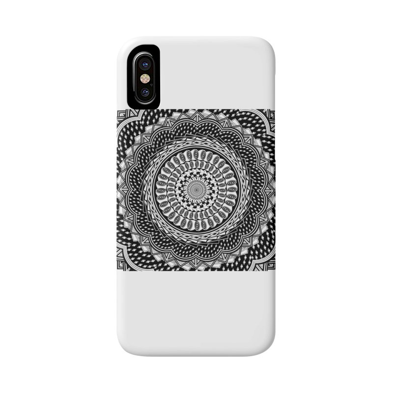 Mandala 3 Accessories Phone Case by Rocain's Artist Shop