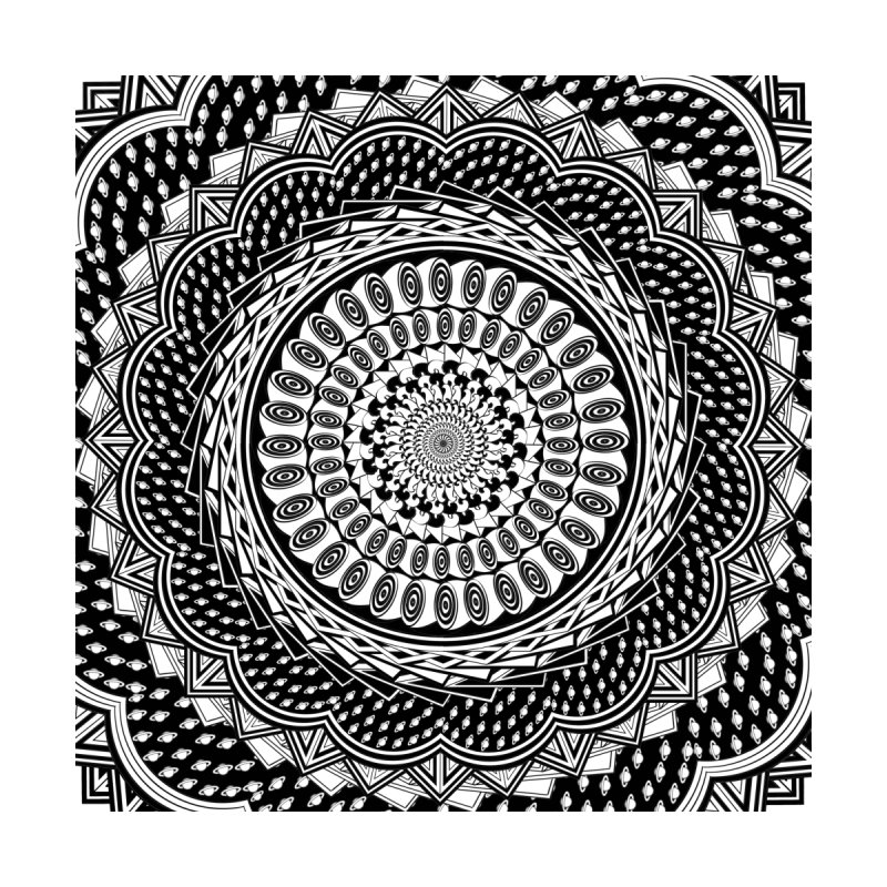 Mandala 3 Home Fine Art Print by Rocain's Artist Shop