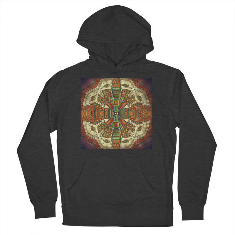 Perspective Women's French Terry Pullover Hoody by Rocain's Artist Shop
