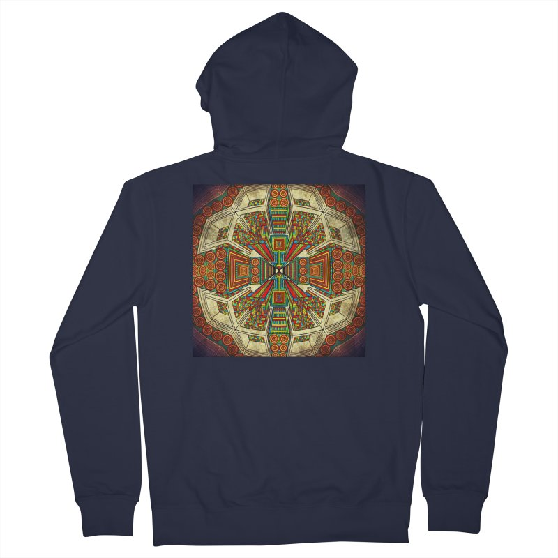Perspective Women's French Terry Zip-Up Hoody by Rocain's Artist Shop