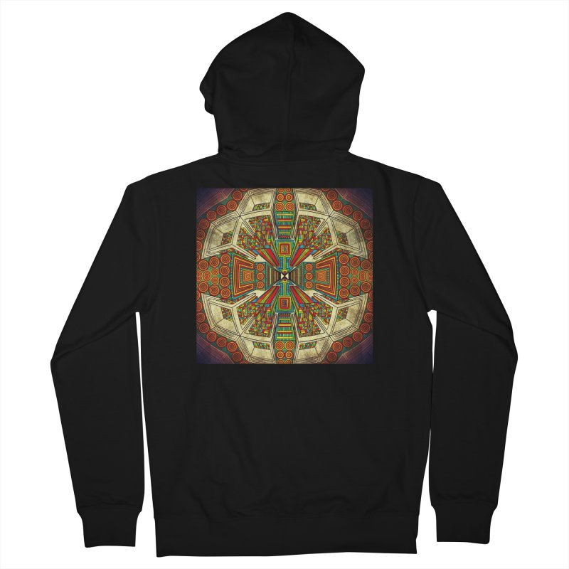 Perspective Men's French Terry Zip-Up Hoody by Rocain's Artist Shop