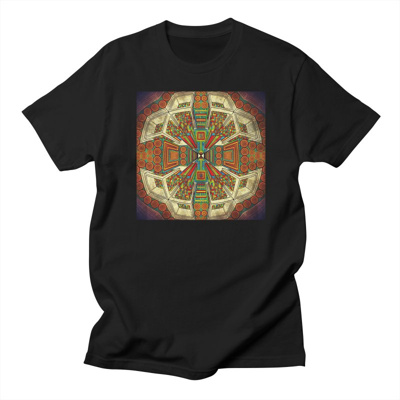 Perspective Men's Regular T-Shirt by Rocain's Artist Shop
