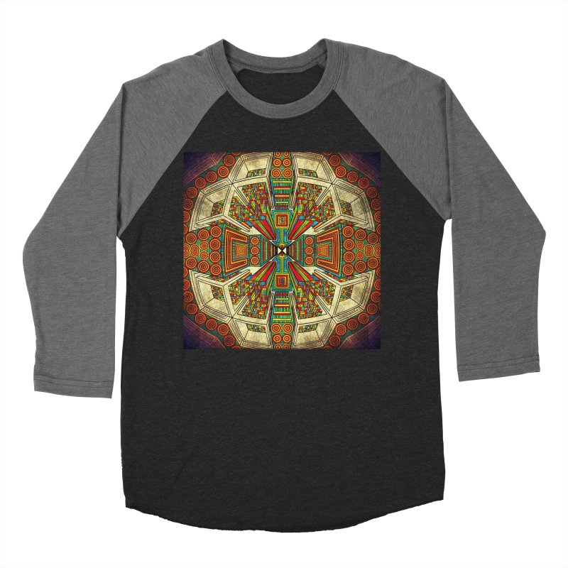 Perspective Women's Baseball Triblend Longsleeve T-Shirt by Rocain's Artist Shop