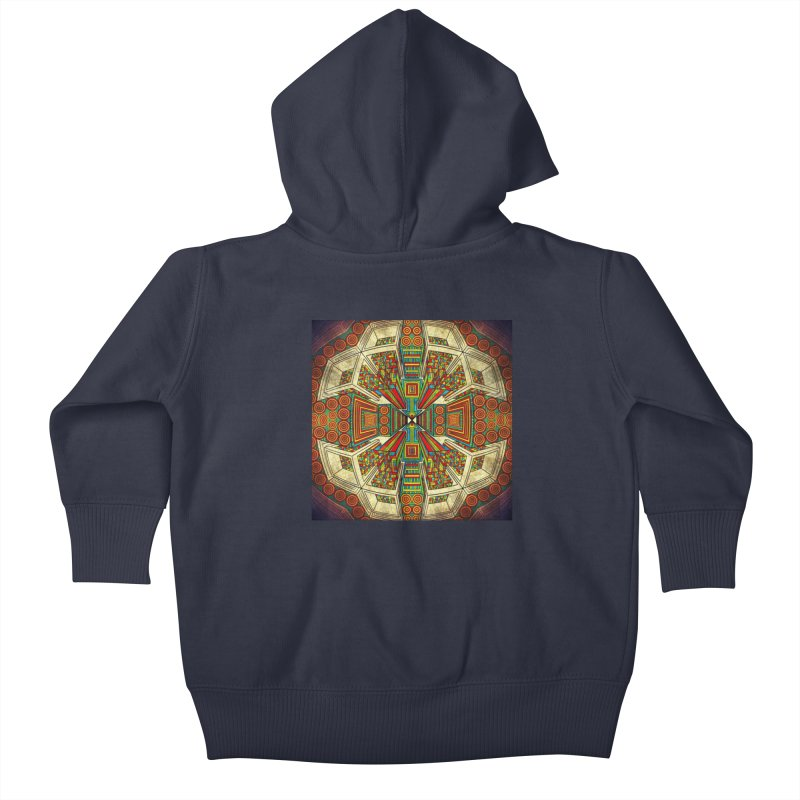 Perspective Kids Baby Zip-Up Hoody by Rocain's Artist Shop