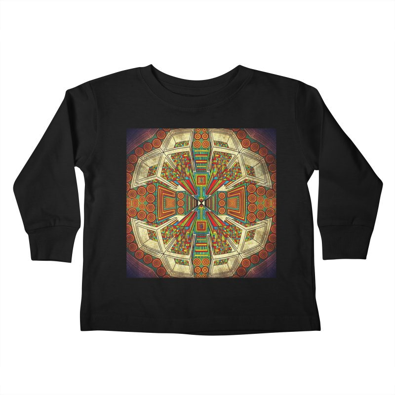 Perspective Kids Toddler Longsleeve T-Shirt by Rocain's Artist Shop
