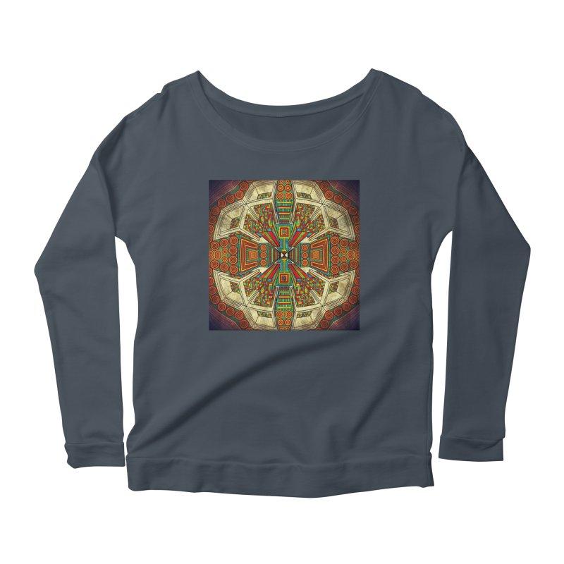 Perspective Women's Scoop Neck Longsleeve T-Shirt by Rocain's Artist Shop