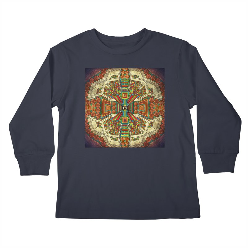 Perspective Kids Longsleeve T-Shirt by Rocain's Artist Shop